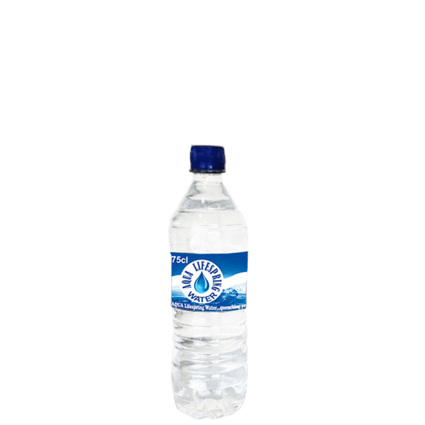 Aqua Lifespring Water 75cl Bottle